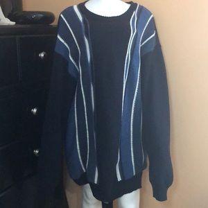Vintage Cellinni Coogi Grandpa Sweater Wool 2XLT